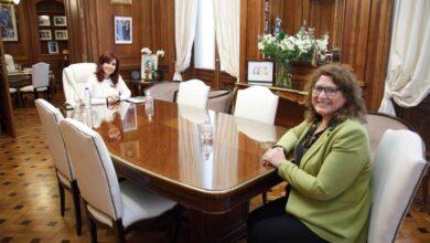 Photo of TOTAL APOYO DE CRISTINA FERNÁNDEZ  A CAROLINA YUTROVIC